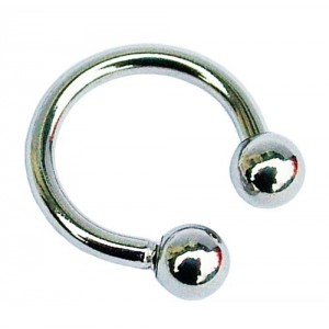 Circular Barbell - Horseshoe Ring