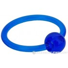 Blue Acrylic Ball Closure Ring