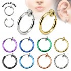 Fake hoops, spring loaded choice of colours