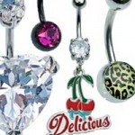 Belly bars, belly rings, belly button bars