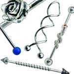Scaffold Ear Piercing Industrial Bars