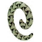 Spiral Ear Expander - Bones Design