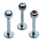 Set of Three Jewelled Tragus Studs