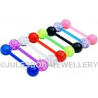 Glitter Tongue Bars
