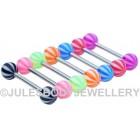 Tongue Bars - Beachball Design